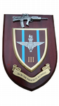 3 bn Parachute Regiment Military Wall Plaque + Pewter SA80